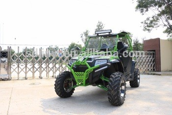 强大的廉价400cc 2座UTV在中国