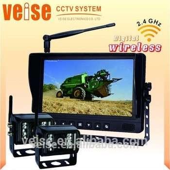 农用拖拉机农机设备视觉安全监控系统