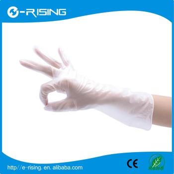 2017热塑聚氯乙烯手套一次性使用