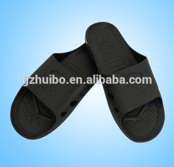 中国PU防静电鞋拖鞋,无尘鞋