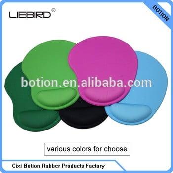 定制凝胶放松手腕鼠标垫/促销礼品广告鼠标垫供应商