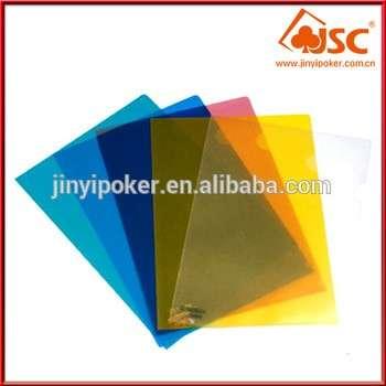 环保可重用VC柔性封面塑料A4透明片材