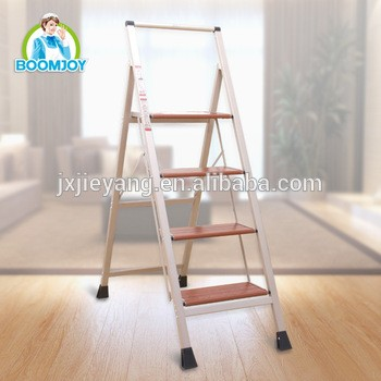 Pleasing Boomjoy T 5 Lightweight Folding Aluminum Step Ladder With 4 Pabps2019 Chair Design Images Pabps2019Com