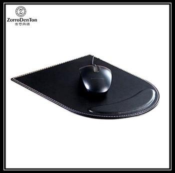 OEM定制印刷办公室PU皮革鼠标垫鼠标垫