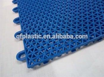 彩色防护PP塑料地板