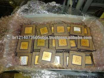英特尔奔腾专业陶瓷CPU回收黄金废料