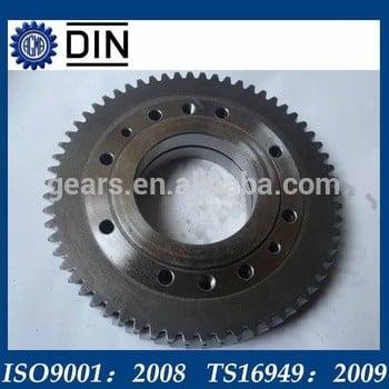 定制钢农业机械零件直齿轮