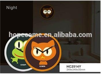 (hc2514y)14寸装饰荧光家品时钟