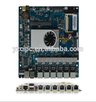 6局域网的Mini - ITX主板/板游戏,双核DDR3