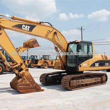 Cat 320c Used Excavator For Sale In Shanghai China, Used Cat Excavator