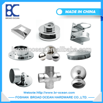 High quality cheap price stainless steel 201# 304# 316# handrail pipe fitting