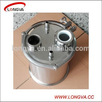 sanitary stainless steel pipe fitting blind cap with pipe fittings