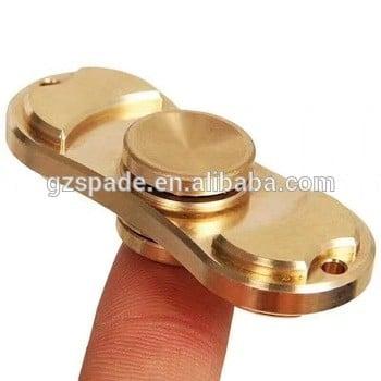 2017最新发布的应激坐立不安玩具EDC手指旋转纯铜或铝的手旋转