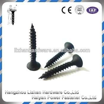 石膏板的黑色螺丝制造商菲利普斯喇叭头干壁钉日本