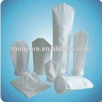 食品级25/50/100微米尼龙/聚酯网液体滤袋