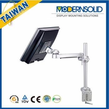 高铝旋转旋转倾斜液晶显示器臂支架