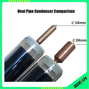 High quality solar heat pipe evacuated tube for solar water heater and solar collector