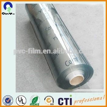 0.05-0.50mm超级清澈透明PVC薄膜柔性制造