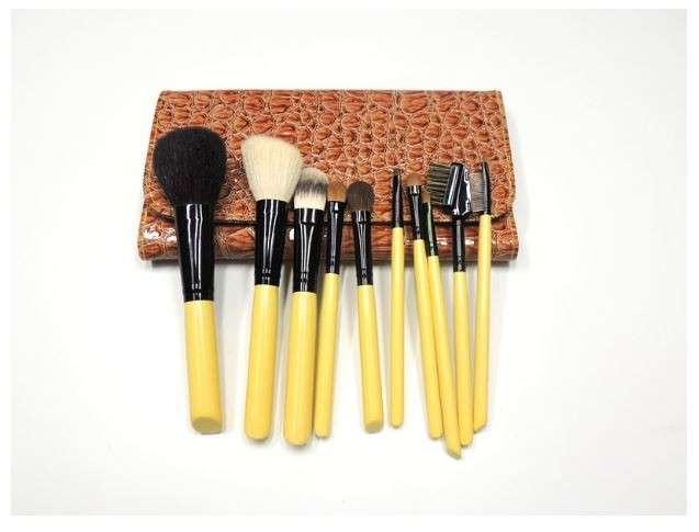 10套化妆刷套装优质PU包