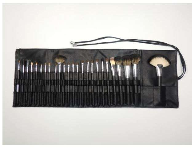 25 pcs Complete Makeup Brush Set