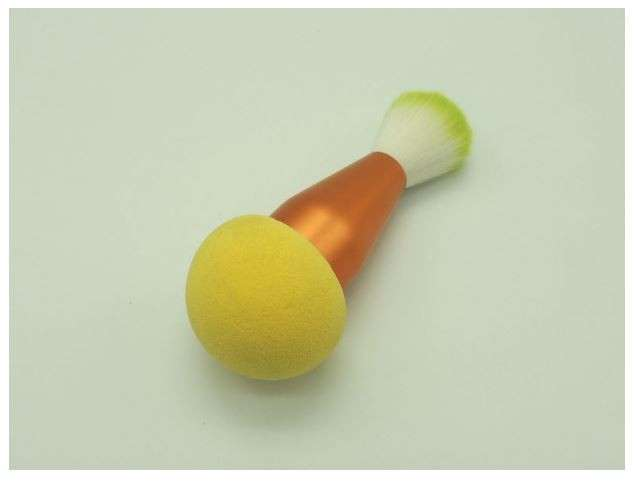 2 in 1 cosmetic sponge & brush