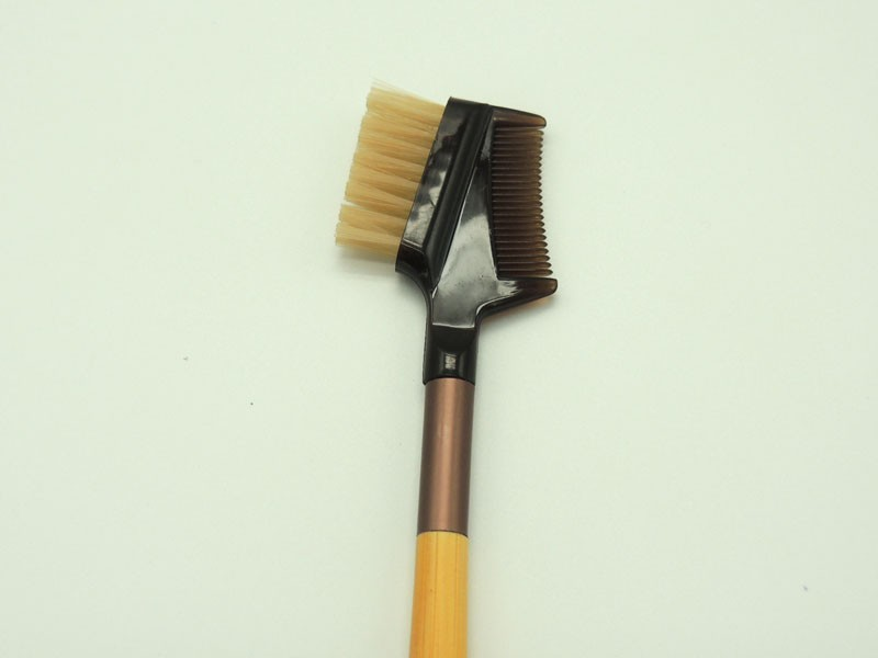 Eyebrow brush & comb