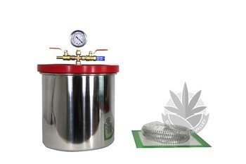 Vacuum Chamber Stainless Steel 1/1.5/3 Gal BHO Extraction Purge
