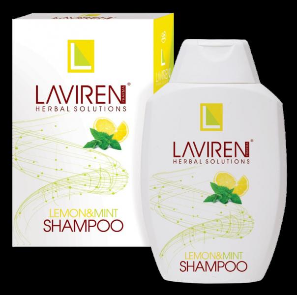 laviren柠檬和薄荷洗发水300毫升