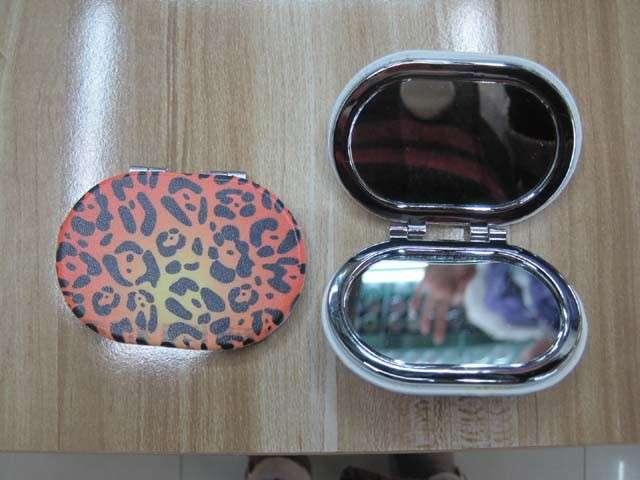 豹纹PU lfm2210椭圆形镜子