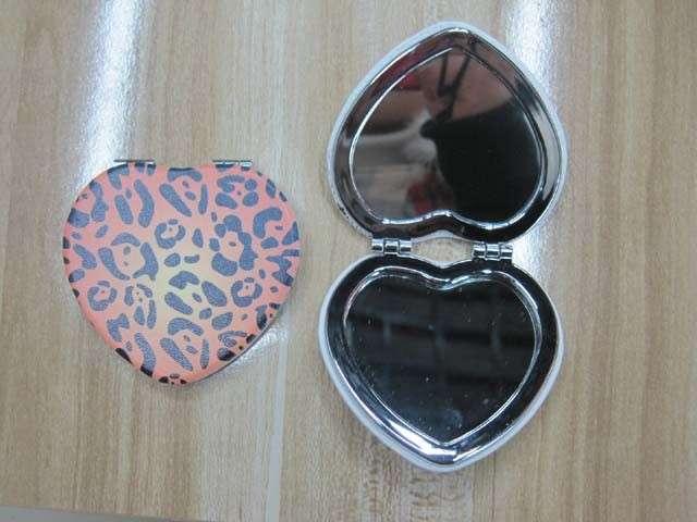 豹纹PU镜心口袋镜lfm2211