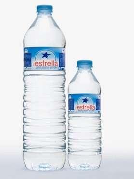 在estrella1 |碱性天然mineralwaters Petbottles