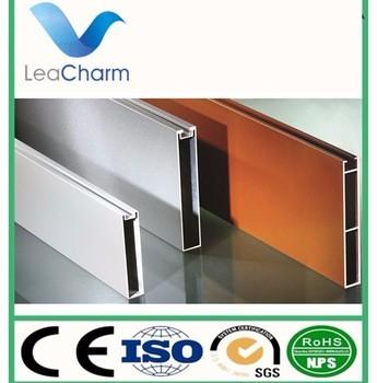 2017 hotsale铝型材铝U形挡板吸