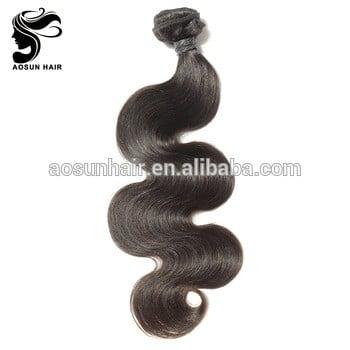 批发人类头发编织100%未加工的8a 9a巴西体波的头发