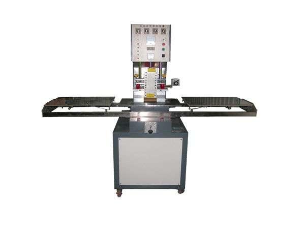 单焊头手动托盘高频机