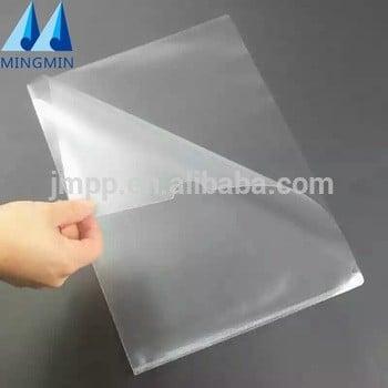 工厂表保护器/ L形清除文件夹/ A4塑料文件夹