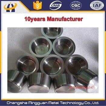 Hot sale High Temperature Metal Melting Furnace Tungsten Crucible