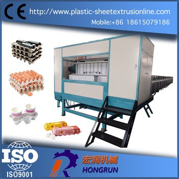 纸蛋盘工业纸盒纸浆模塑机多层纸旋转纸纸浆模塑机