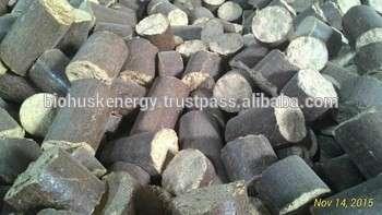 高密度Rice Husk Briquettes