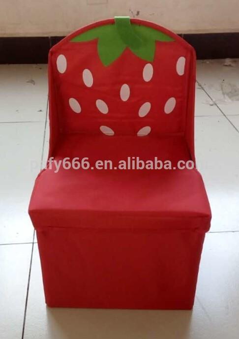 Enjoyable 2016 Fabric Folding Storage Cube Ottoman Kids Chair Storage Machost Co Dining Chair Design Ideas Machostcouk