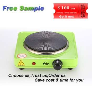 1000Watts thermal fuse electric hot plate cooker 110v