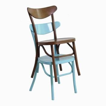 商业堆叠耐用网吧椅子就餐