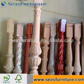 Customized Wooden Newel Post Designs, Wooden Stair Parts At Negotiable Rate