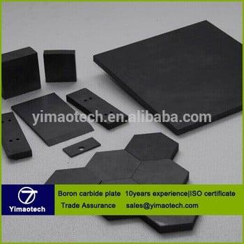 生产碳化硼陶瓷板/碳化硼防弹