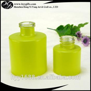100毫升黄色香水瓶玻璃扩散瓶