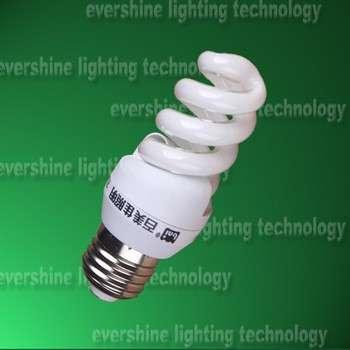 2015新设计的PBT塑料9mm 9瓦的小型全螺旋节能灯