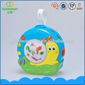 批发中国安全塑料婴儿投影仪玩具玩具音乐睡觉