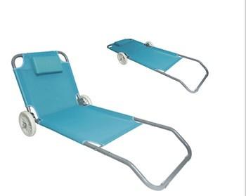 便携式金属折叠床床带轮功能折叠床金属床