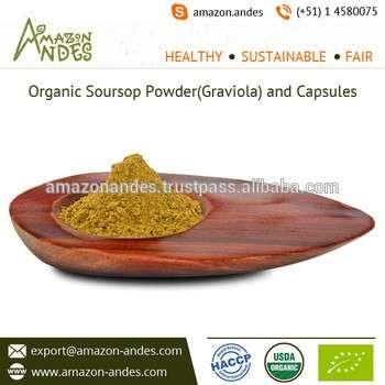 散装Graviola或刺果番荔枝有机叶粉可用