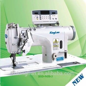 bsd-9000高速直接驱动双针平缝机