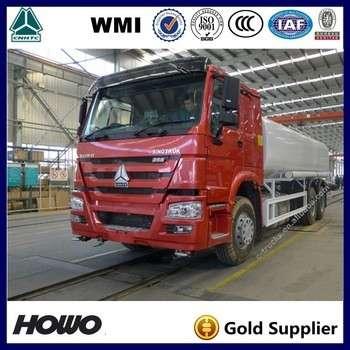 HOWO 25000l加油油箱燃油加油车销售肯尼亚